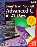 Teach Yourself Advanced C In 21 Days Book PDF