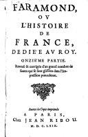 Faramond, ou l'histoire de France