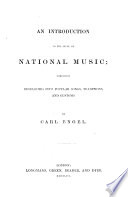 An Introduction to the Study of National Music