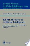 Ki 98 Advances In Artificial Intelligence