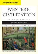 Cengage Advantage Books  Western Civilization  Beyond Boundaries  Volume I