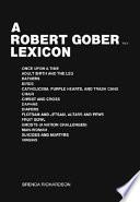 A Robert Gober lexicon