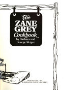 Pdf The Zane Grey Cookbook