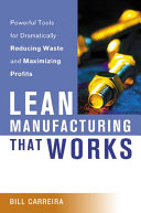 Lean Manufacturing that Works Book