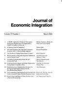 Journal of Economic Integration