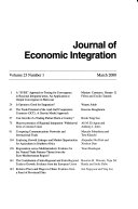 Journal of Economic Integration