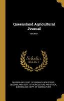 Queensland Agricultural Journal