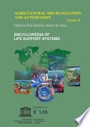 Agricultural Mechanization And Automation   Volume II