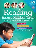 Reading Across Multiple Texts in the Common Core Classroom Pdf/ePub eBook