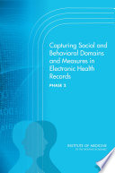 Capturing Social and Behavioral Domains and Measures in Electronic Health Records