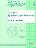 Inorganic Spectroscopic Methods