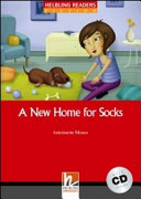 A New Home for Socks : [audio download available] ; [Level 1 (A1)]