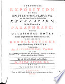 A Practical Exposition Of The Four Evangelists In The Form Of A Paraphrase With Occasional Notes And Serious Recollections By John Guyse D D The Second Edition Corrected