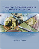Financial Statement Analysis and Security Valuation Book