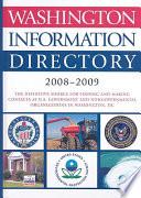Washington Information Directory 2008 2009