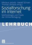 Sozialforschung im Internet