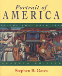 Portrait Of America From Reconstruction To The Present