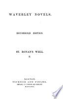 Waverley Novels  St  Ronan s well  1859