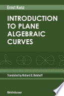 Introduction to Plane Algebraic Curves