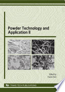 Powder Technology And Application Ii Book PDF
