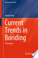Current Trends In Boriding