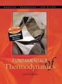 Fundamentals Of Thermodynamics Book PDF