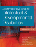 A Comprehensive Guide to Intellectual and Developmental Disabilities  Second Edition