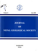Journal of Nepal Geological Society