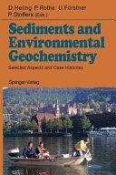 Sediments and Environmental Geochemistry
