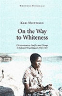 On The Way To Whiteness