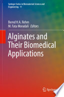 Alginates And Their Biomedical Applications Book PDF