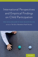 International Perspectives and Empirical Findings on Child Participation [Pdf/ePub] eBook