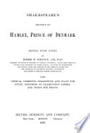 Shakespeare s Tragedy of Hamlet  Prince of Denmark
