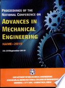 Advances n Mechanical Engineering Book