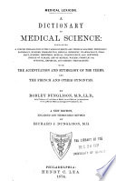 A Dictionary of Medical Science     Book PDF