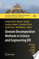 Domain Decomposition Methods in Science and Engineering XXI Book