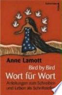 Bird by bird - Wort für Wort