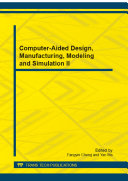 Computer-Aided Design, Manufacturing, Modeling and Simulation II Pdf/ePub eBook