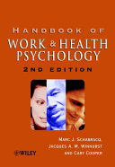 Handbook of Work and Health Psychology Book