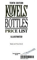 Kovels' Bottles Price List