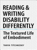 Reading and Writing Disability Differently Pdf/ePub eBook