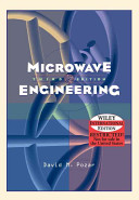 Cover of Microwave Engineering