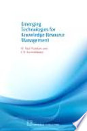 Emerging Technologies For Knowledge Resource Management Book PDF