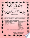 SPIDERS ARE ARACHNIDS
