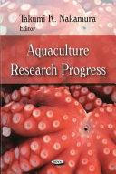 Aquaculture Research Progress