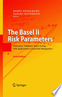 The Basel II Risk Parameters