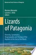 Lizards of Patagonia