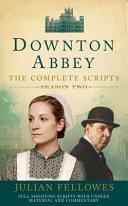Downton Abbey Series Two Scripts