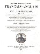Grand Dictionnaire Fran  ais anglais Et Anglais fran  ais