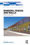 Pdf Borders, Fences and Walls